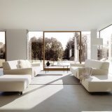 Knoll Cini Boeri Sofa and Ottoman