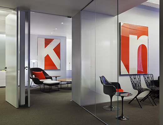 Knoll New York Showroom Collaborative Meeting Room