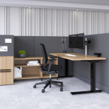 anchor double-wide pedestal raised foot workstation side access tower dividends horizon glass gallery panel k. stand regen regeneration sapper xyz