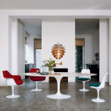 dining area classics knollstudio residential residence home