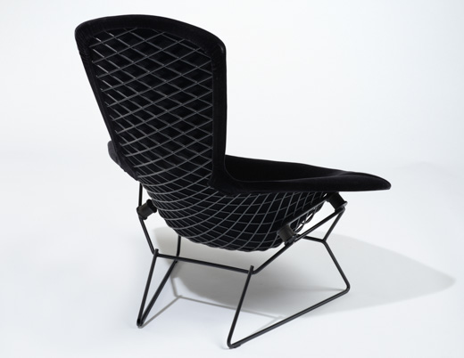 Captivating ... Harry Bertoia Bird Chair Knoll Velvet KnollTextiles ...