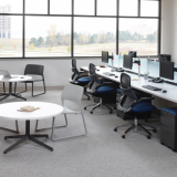 Knoll Dividends Horizon workstation and Generation by Knoll