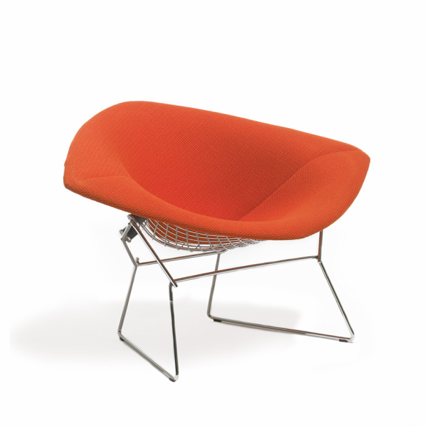 chair thumb by shop knoll pad without bertoia designer seat furniture harry side