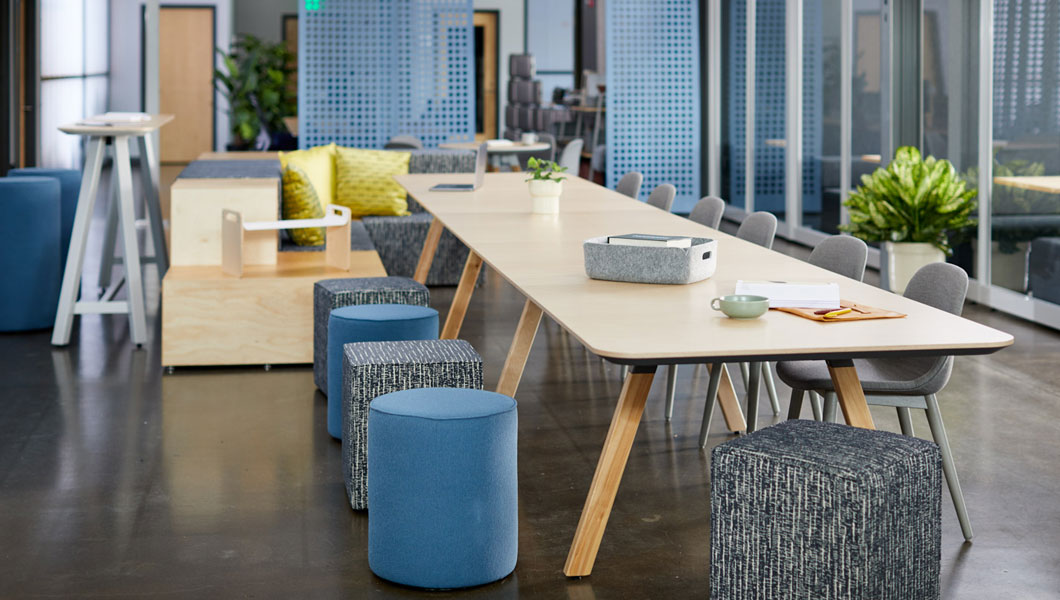 Knoll Shared Spaces Community Space With Rockwell Unscripted