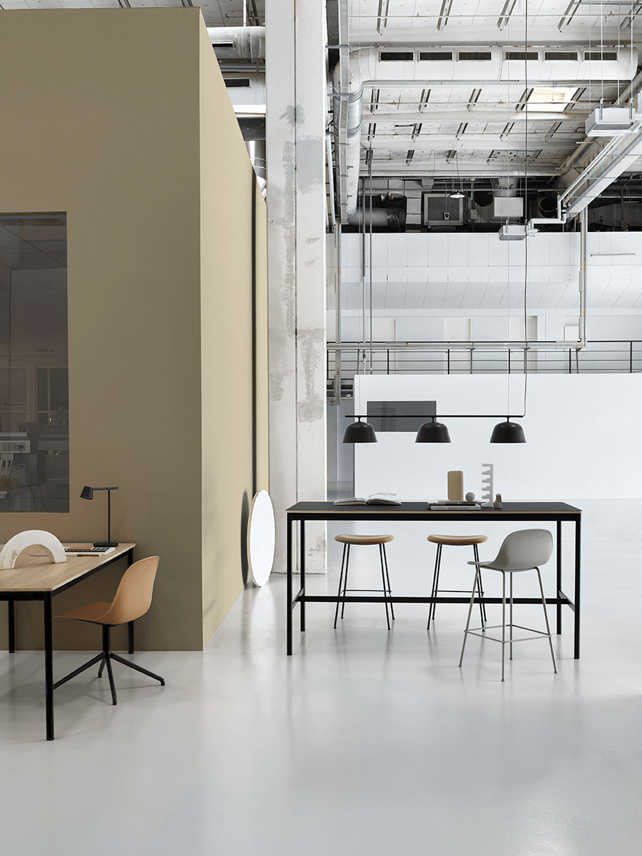 muuto Base Table & Fiber Family