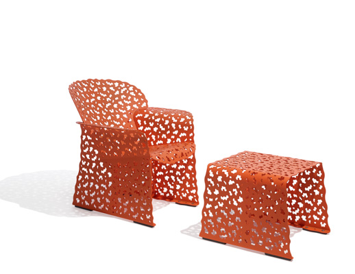 Richard Schultz Topiary Lounge Chair & Stool