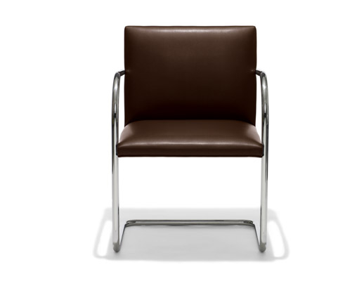 The Tubular Brno Chair designed by Ludwig Mies van der Rohe.