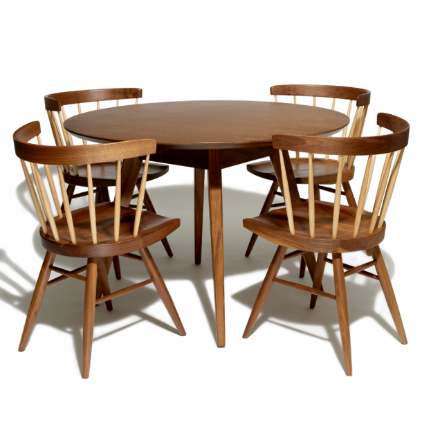 Table And Chairs Png Risom dining table knoll