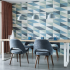 The Clever Collection | Topos Upholstery In Step Drapery Tangent Wallcovering