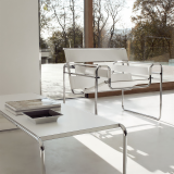 Marcel Breuer Wassily Chair and Laccio Table