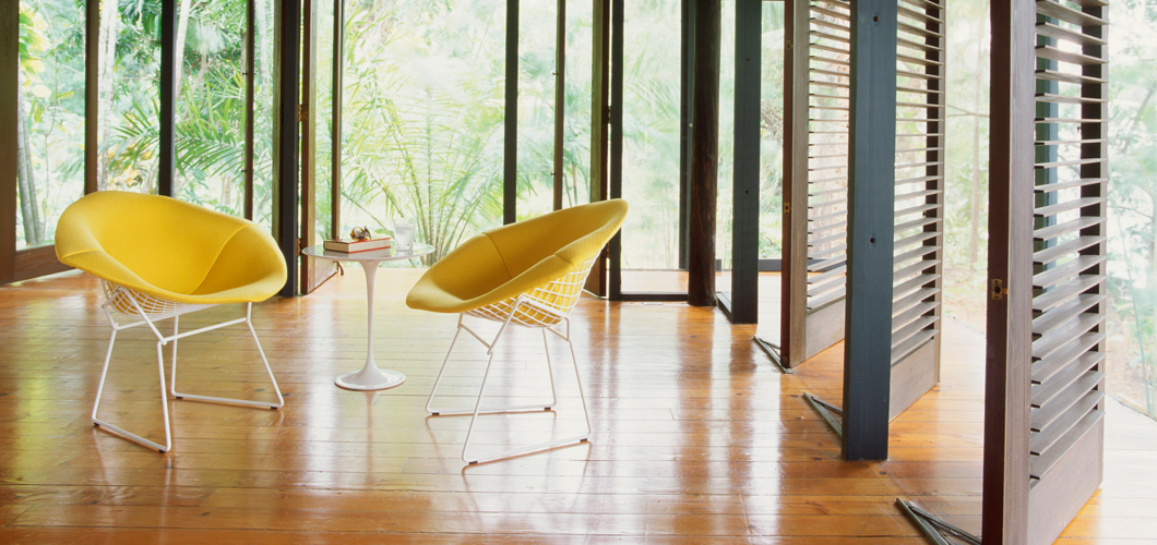 Knoll Bertoia Diamond Chair by Harry Bertoia