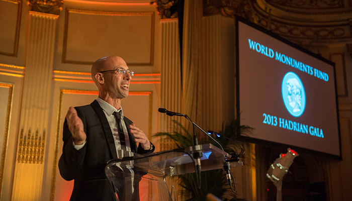 Andrew Cogan Honored by the World Monuments Fund