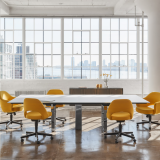 DatesWeiser Highline Table Saarinen Executive Chair