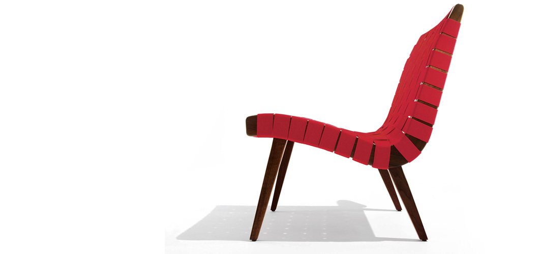 Knoll Risom Lounge Chair by Jens Risom