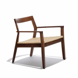 Knoll American Walnut Krusin Lounge Chair