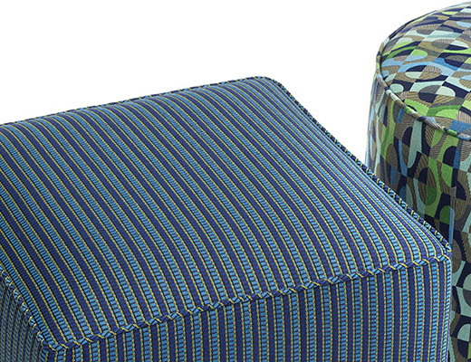 KnollTextiles Sutton and Bistro Upholstery Blue and Green