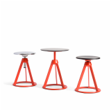 edward barber jay osgerby barber & osgerby collection height adjustable stool side table stools neocon 2015 piton