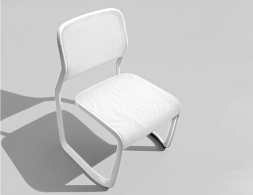 Newson Aluminum Chair Marc Newson Side Chair