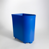 Orchestra Electric Blue Recycling Wastebasket