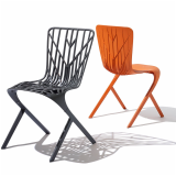 Washington Skeleton and Washington Skin Chair by David Adjaye