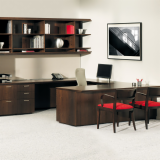 Graham Collection private office with Life task char
