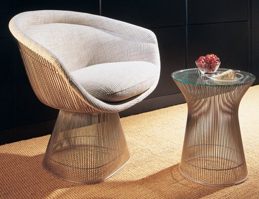 Fantastisch ... Platner Lounge Chair And Table ...