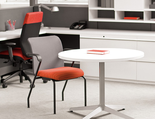 Knoll Dividends Horizon X-Base Table