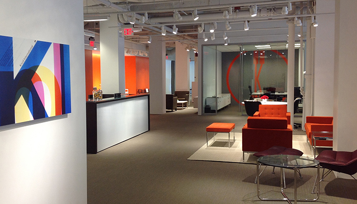 Boston Showroom LEED Platinum Certification
