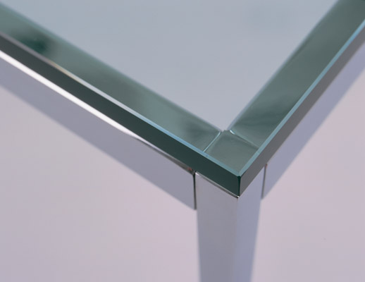 Chrome Florence Knoll end table