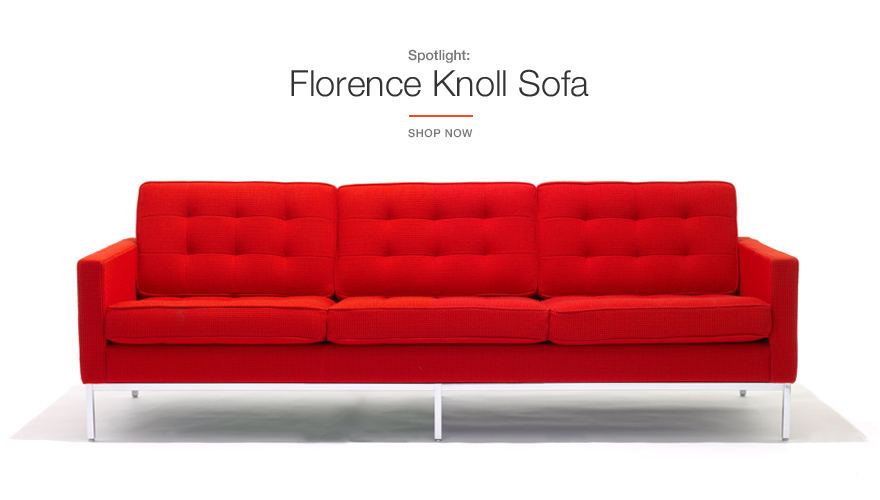 Knoll Florence Sofa Collection Promotion