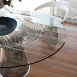 Knoll Warren Platner Wire Dining Table and Dining Chair