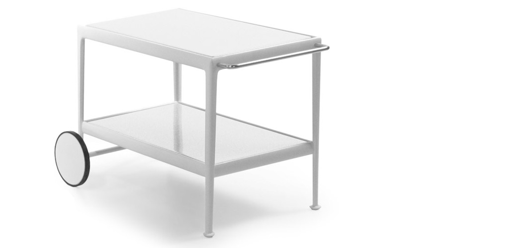 Knoll 66 Collection Serving Cart by Richard Schultz
