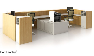 Administrative Area Furniture Design And Plan Knoll