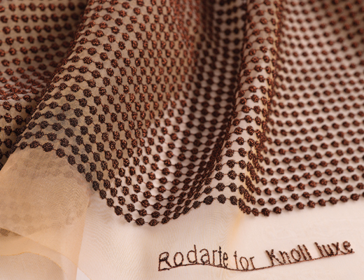 Emerson textile by Rodarte for Knoll Luxe