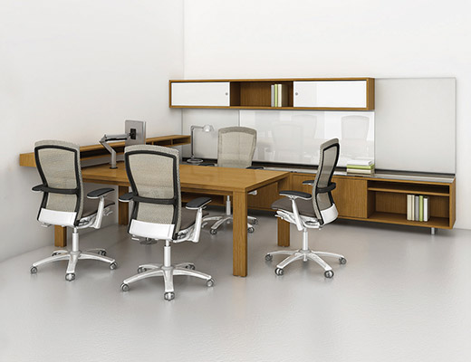 NeoCon 2013 Reff Profiles Private Office with Life Chairs