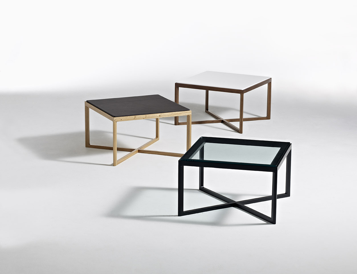 krusin side and end tables knoll