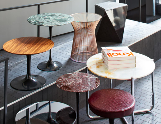 Saarinen Side Tables Knoll
