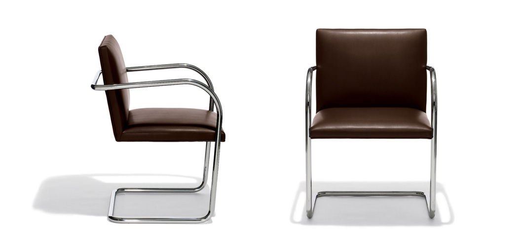 brno chair tubular knoll. Black Bedroom Furniture Sets. Home Design Ideas