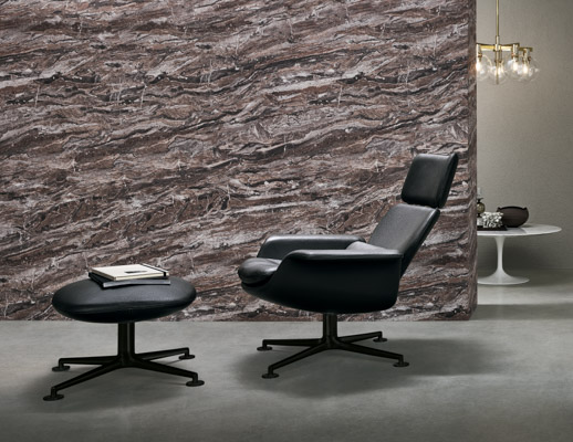 KN02 Swivel and Reclining High Back Lounge | Knoll