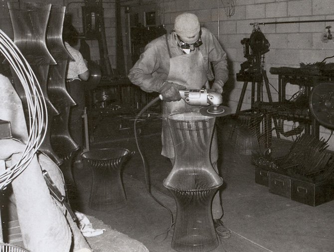 Platner stool knoll for Table design history