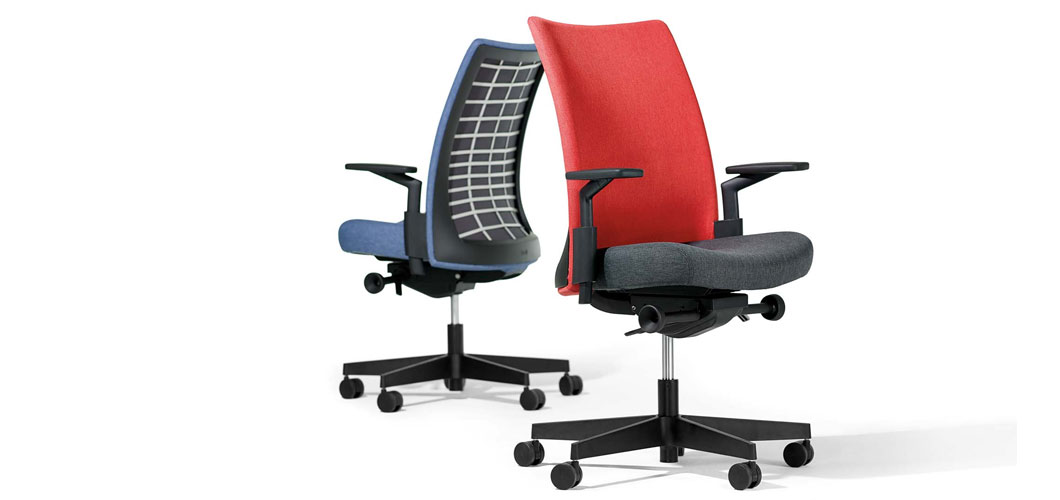 Remix Upholstered Performance Ergonomic Office Chair by Knoll