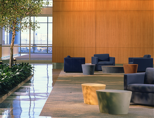 Maya Lin Stones and Pfister Lounge Seating