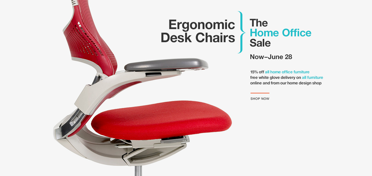 Shop Ergonomic Desk Chairs. The Knoll Home Office Sale. Now–June 28