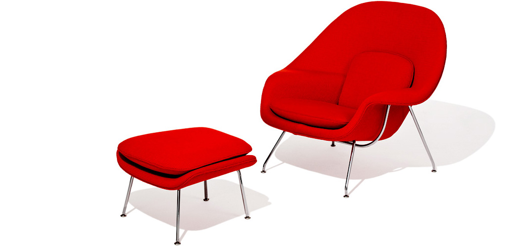 Knoll Saarinen Womb Chair by Eero Saarinen