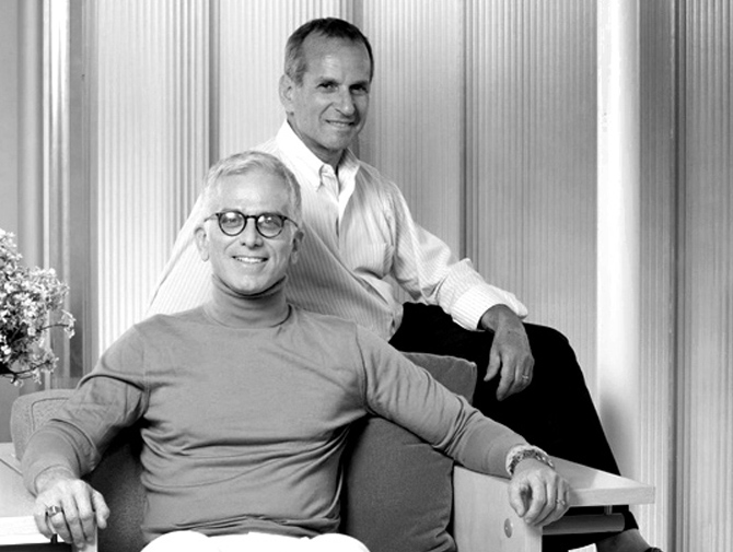 Knoll Designers Peter Stamberg and Paul Aferiat