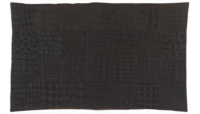 Adinkra Wrapper from the Akan peoples of the Asante group, Ghana, mid-20th century from David Adjaye Selects.