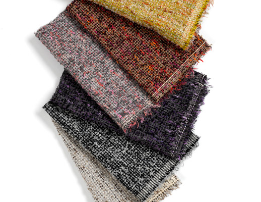 Modern Tweed Canvas Greenhouse Shetland Heirloom Estate Tailor Raven The Legacy Collection Yellow Beige White Orange Red Black Purple Texture Upholstry KnollTextiles The Legacy Collection