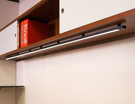 ... NeoCon 2013 LED Lighting Series Undercabinet Light ... - Highwire® Knoll