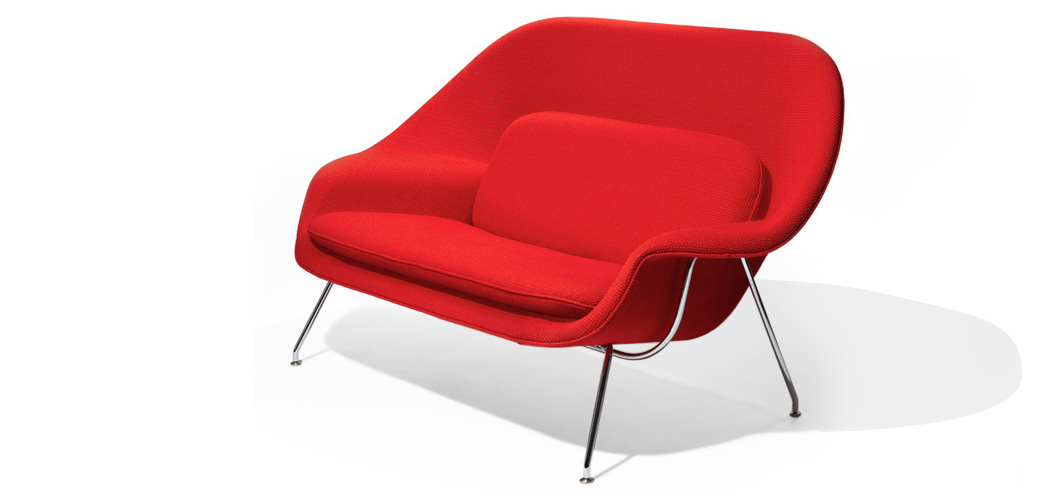 Knoll Saarinen Womb Settee by Eero Saarinen