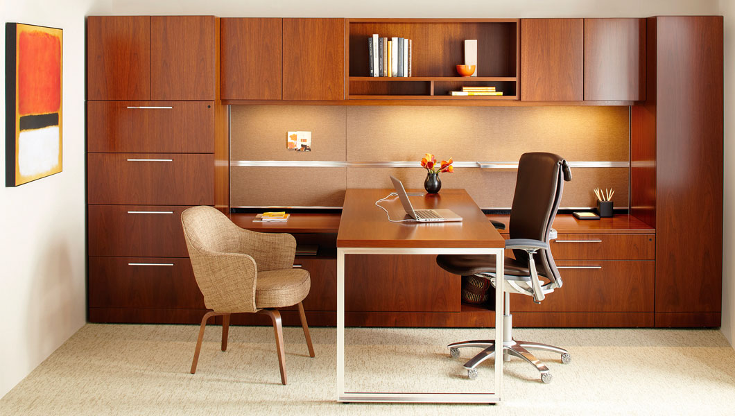 Knoll Classic Private Office with Reff Profiles